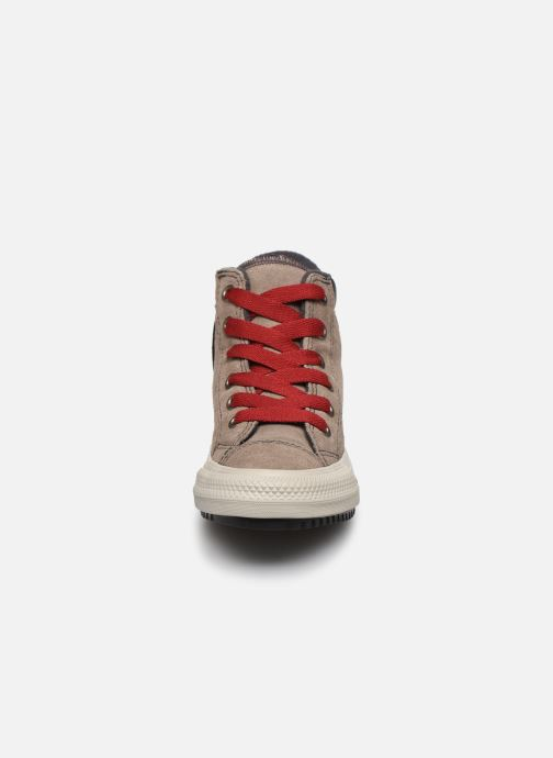 Baskets Converse Chuck Taylor All Star Pc Boot Boots On Mars Hi Marron vue portées chaussures
