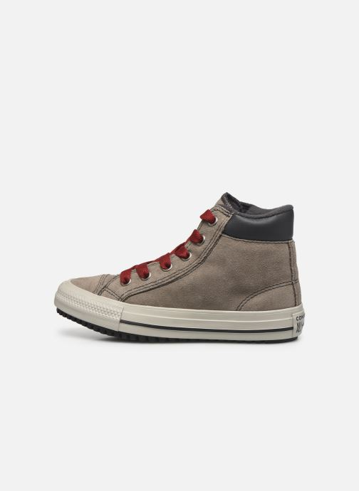 Baskets Converse Chuck Taylor All Star Pc Boot Boots On Mars Hi Marron vue face