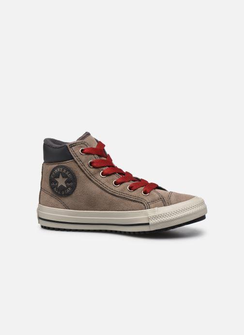 Baskets Converse Chuck Taylor All Star Pc Boot Boots On Mars Hi Marron vue derrière
