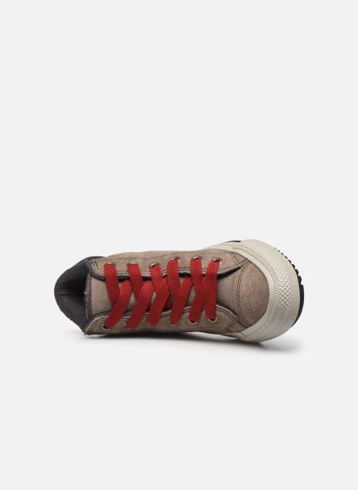 Baskets Converse Chuck Taylor All Star Pc Boot Boots On Mars Hi Marron vue gauche