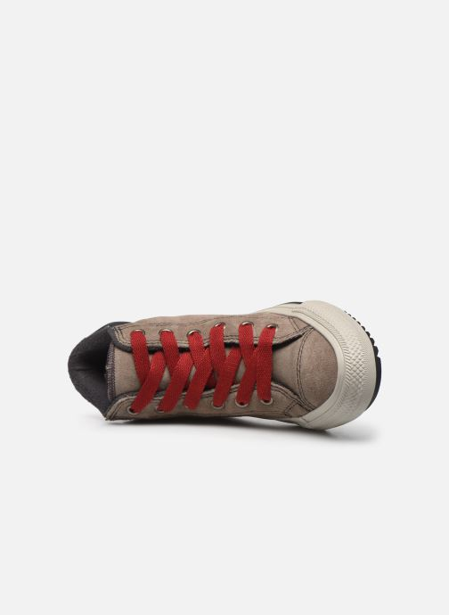 Deportivas Converse Chuck Taylor All Star Pc Boot Boots On Mars Hi Marrón vista lateral izquierda