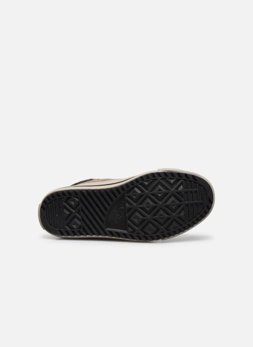 Baskets Converse Chuck Taylor All Star Pc Boot Boots On Mars Hi Marron vue haut