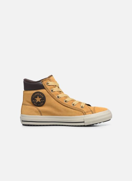 Baskets Converse Chuck Taylor All Star Pc Boot Boots On Mars Hi Jaune vue derrière