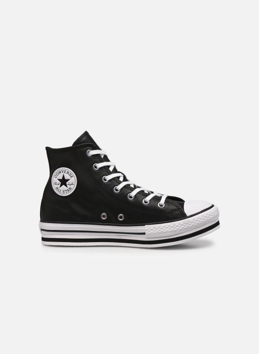 Sneakers Converse Chuck Taylor All Star Platform Eva Leather Hi Nero immagine posteriore