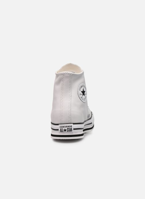 Baskets Converse Chuck Taylor All Star Platform Eva Leather Hi Blanc vue droite