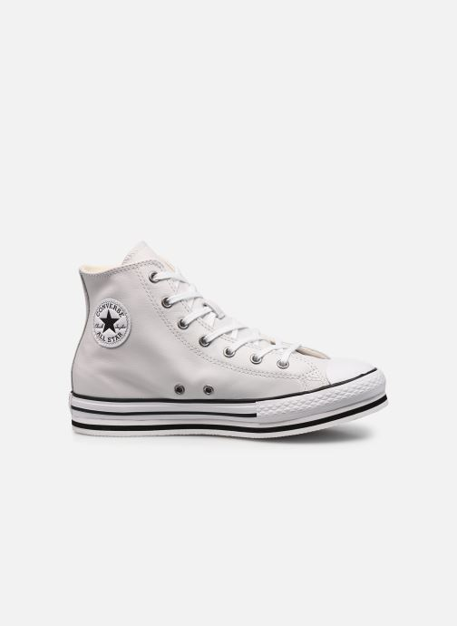 Baskets Converse Chuck Taylor All Star Platform Eva Leather Hi Blanc vue derrière