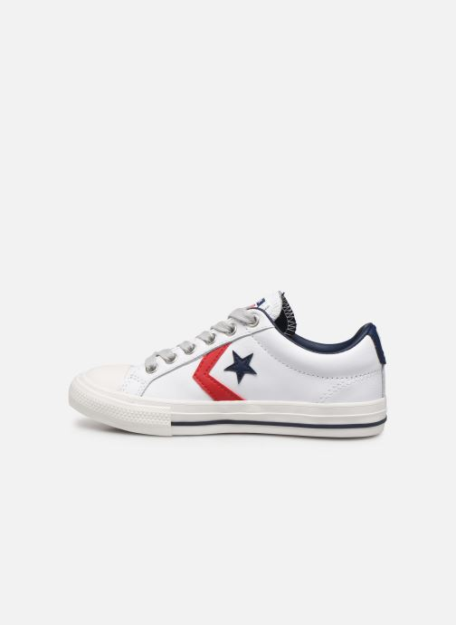Sneakers Converse Star Player Ev Leather Ox Wit voorkant