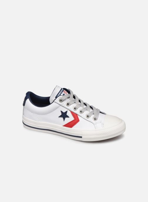Sneakers Converse Star Player Ev Leather Ox Wit detail