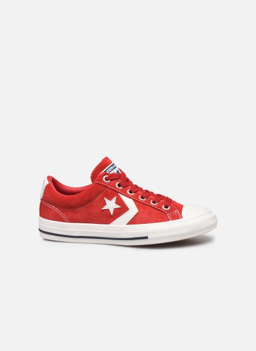Baskets Converse Star Player Ev Suede Ox Rouge vue derrière