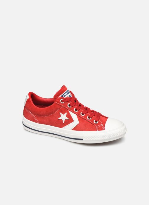 Baskets Converse Star Player Ev Suede Ox Rouge vue détail/paire