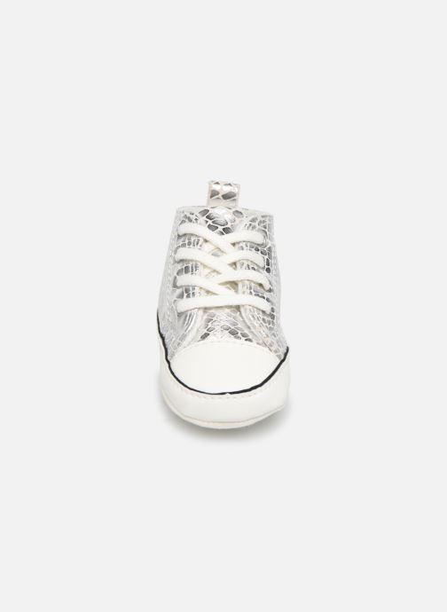 Sneakers Converse Chuck Taylor All Star First Star Metallic Snake Hi Zilver model