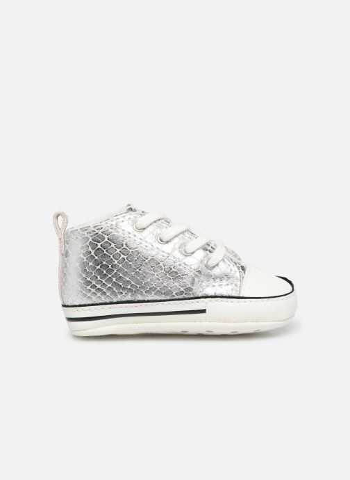 Sneakers Converse Chuck Taylor All Star First Star Metallic Snake Hi Argento immagine posteriore