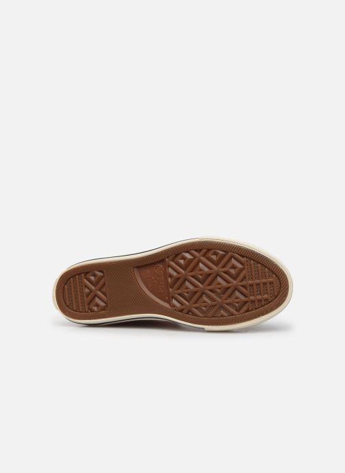 Sneakers Converse Chuck Taylor All Star Metallic Snake Hi Roze boven
