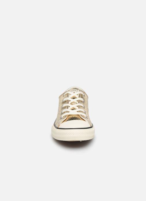 Sneakers Converse Chuck Taylor All Star Metallic Snake Ox Goud en brons model
