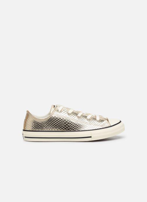 Sneakers Converse Chuck Taylor All Star Metallic Snake Ox Goud en brons achterkant