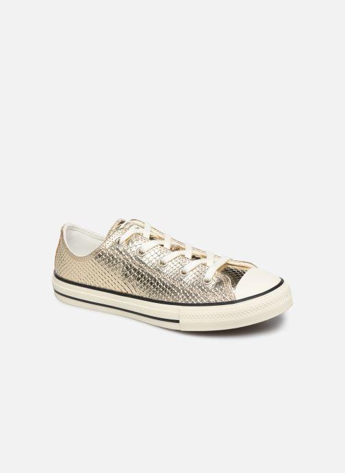 Sneakers Converse Chuck Taylor All Star Metallic Snake Ox Oro e bronzo vedi dettaglio/paio