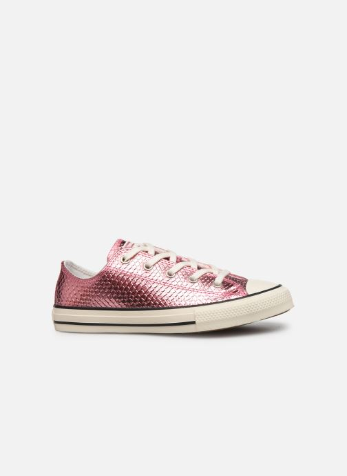 Sneakers Converse Chuck Taylor All Star Metallic Snake Ox Rosa immagine posteriore