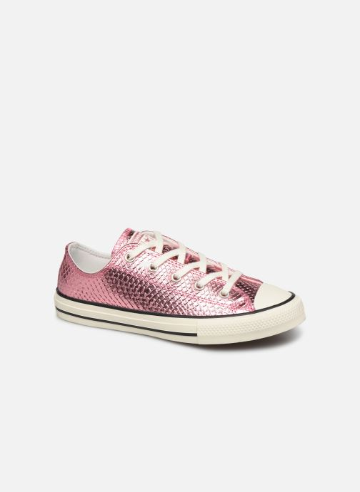Sneakers Converse Chuck Taylor All Star Metallic Snake Ox Roze detail