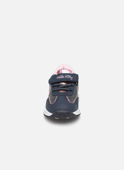 Baskets Hello Kitty Hk Acta Light Bleu vue portées chaussures