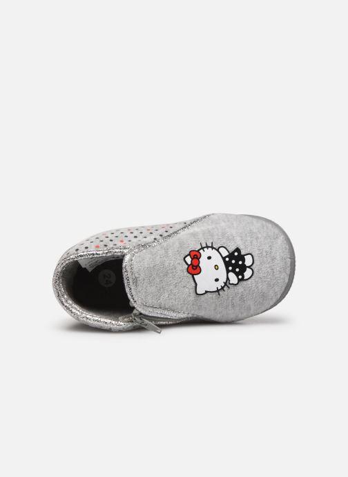 Chaussons Hello Kitty Hk Ambrai Gris vue gauche