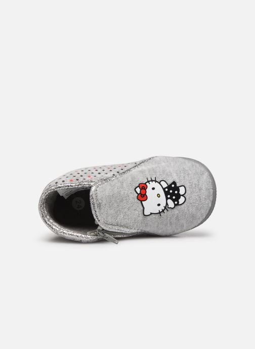 Slippers Hello Kitty Hk Ambrai Grey view from the left