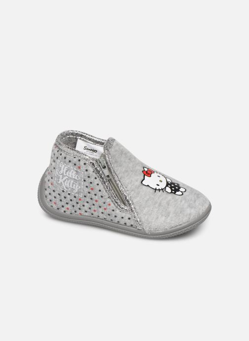 Slippers Hello Kitty Hk Ambrai Grey detailed view/ Pair view