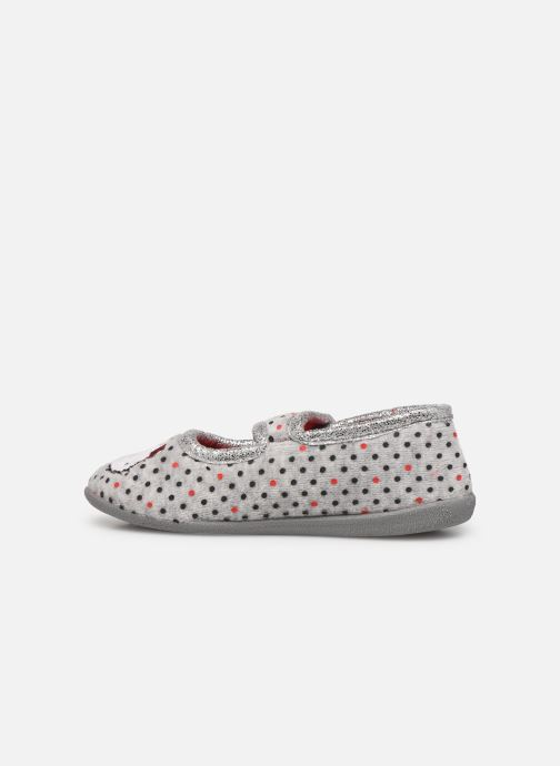 Chaussons Hello Kitty Hk Aricia Gris vue face