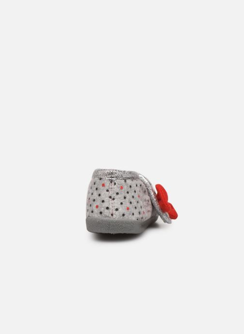 Chaussons Hello Kitty Hk Aricia Gris vue droite