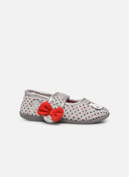 Pantuflas Hello Kitty Hk Aricia Gris vistra trasera