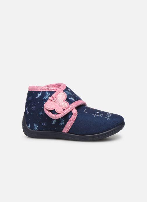 Chaussons Hello Kitty Hk Auta Bleu vue derrière