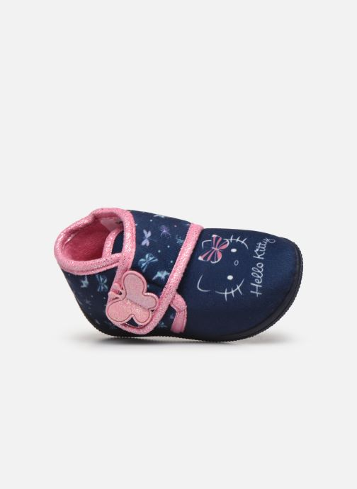 Slippers Hello Kitty Hk Auta Blue view from the left