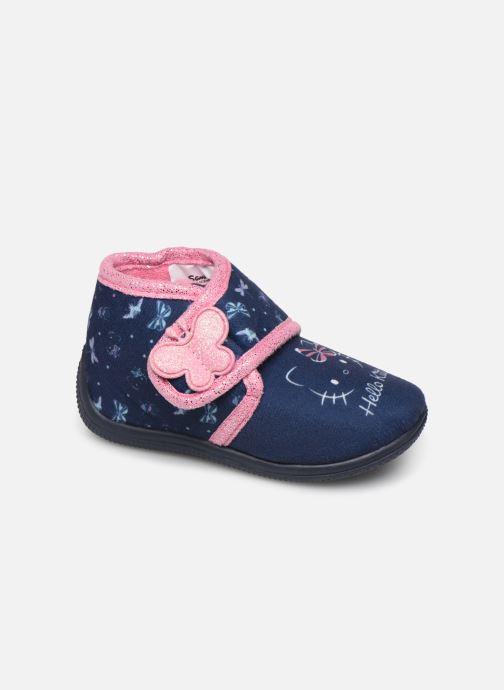 Pantuflas Hello Kitty Hk Auta Azul vista de detalle / par