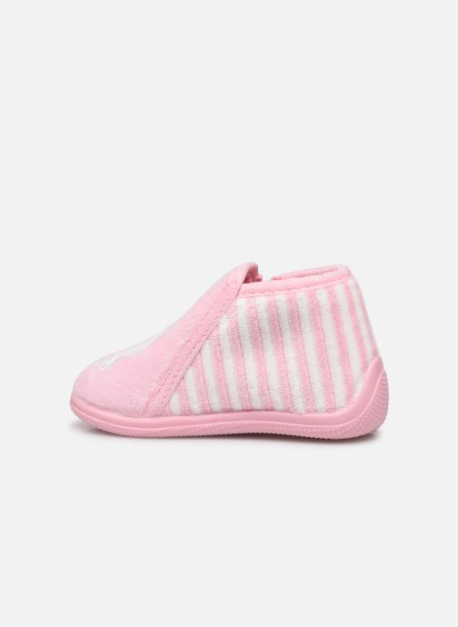 Chaussons Absorba Baba Rose vue face