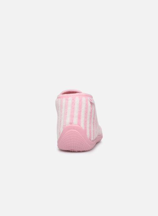 Chaussons Absorba Baba Rose vue droite