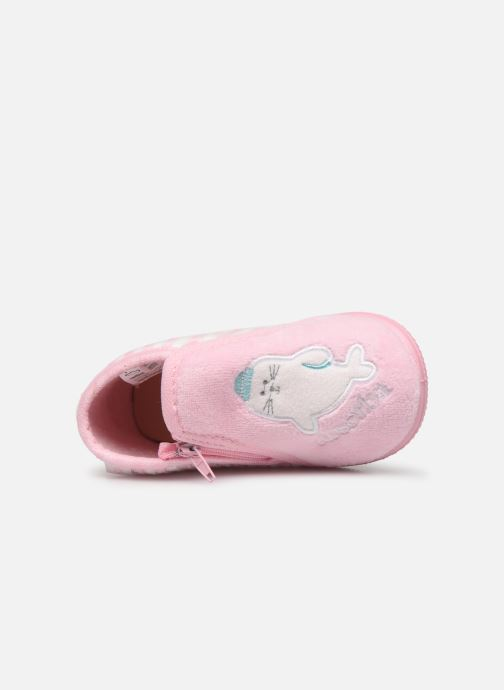 Chaussons Absorba Baba Rose vue gauche