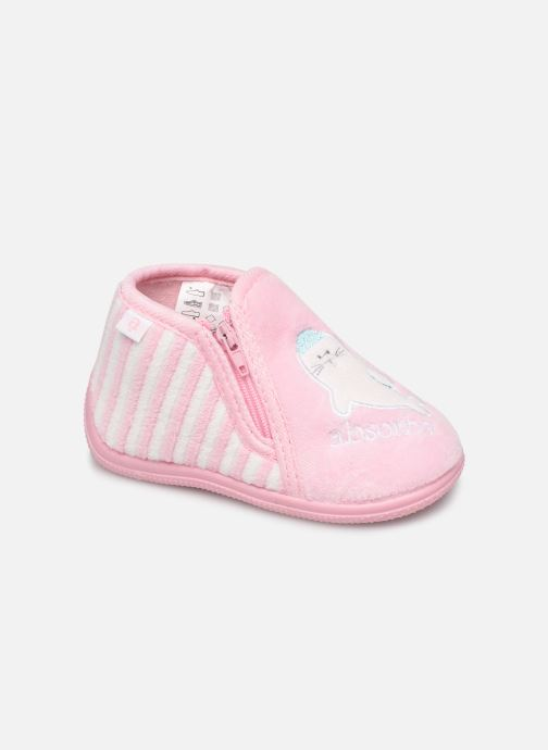Chaussons Absorba Baba Rose vue détail/paire