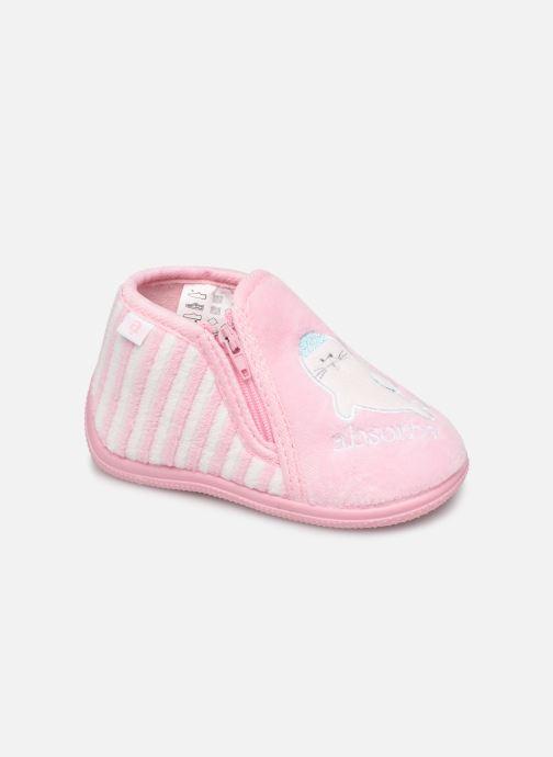 Hjemmesko Absorba Baba Pink detaljeret billede af skoene