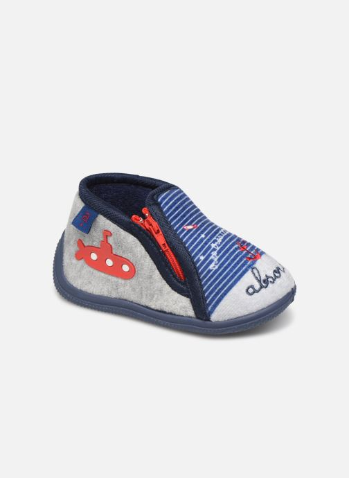 Slippers Absorba Leo Blue detailed view/ Pair view