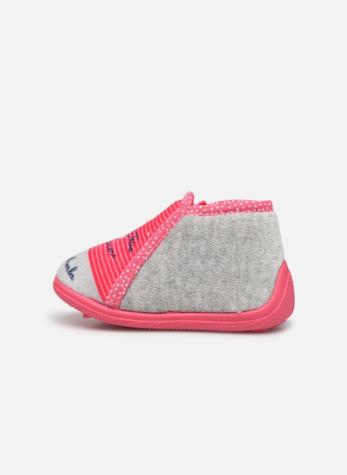 Chaussons Absorba Louisa Rose vue face