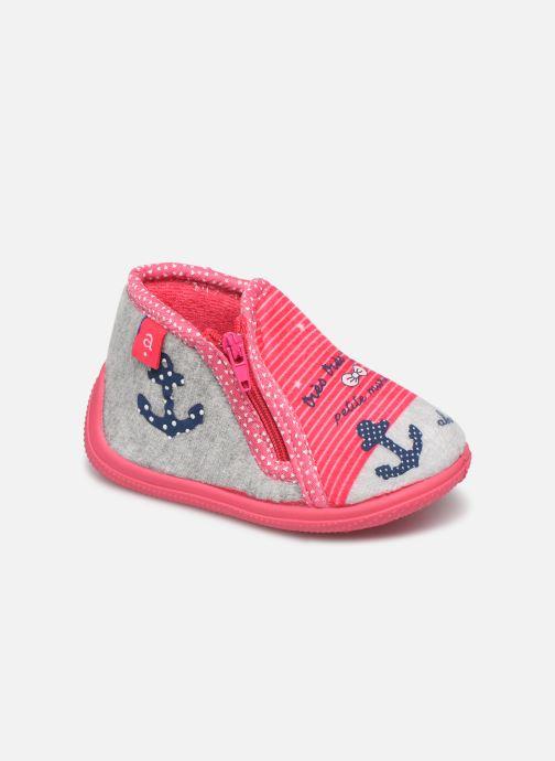 Hjemmesko Absorba Louisa Pink detaljeret billede af skoene
