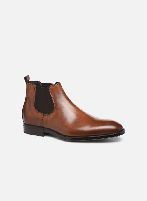 Bottines et boots Marvin&Co Mateo Marron vue détail/paire