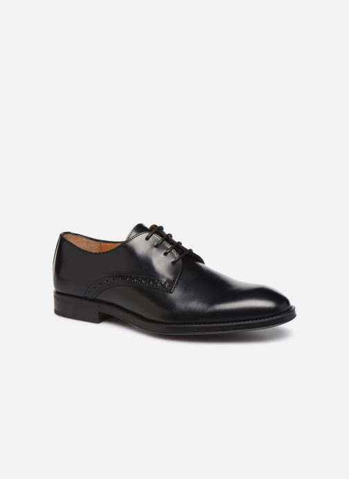 Lace-up shoes Marvin&co Mattini Black detailed view/ Pair view