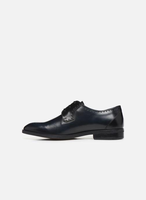 Zapatos con cordones Marvin&Co Moreno Negro vista de frente