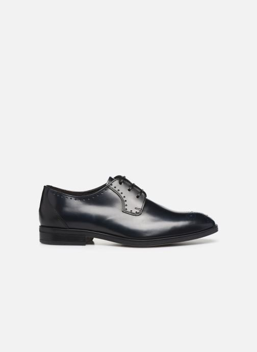 Zapatos con cordones Marvin&Co Moreno Negro vistra trasera