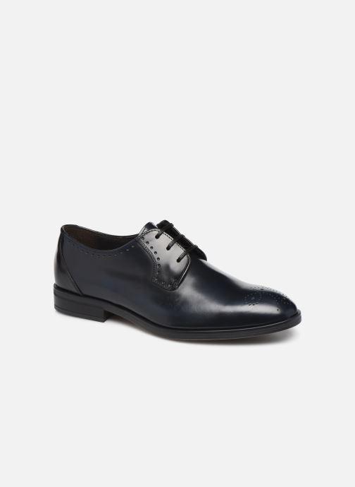 Zapatos con cordones Marvin&Co Moreno Negro vista de detalle / par