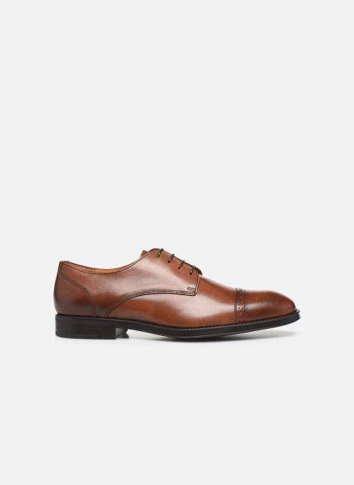 Zapatos con cordones Marvin&Co Massylo Marrón vistra trasera