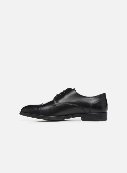 Chaussures à lacets Marvin&Co Massylo Noir vue face