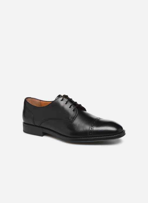 Chaussures à lacets Marvin&Co Massylo Noir vue détail/paire