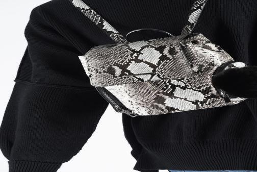Rucksäcke Aldo ZYWIEL XS grau ansicht von unten / tasche getragen