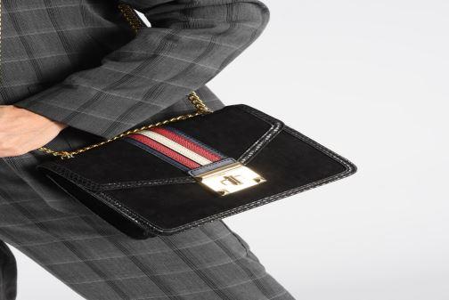 Handtaschen Aldo PREDE braun ansicht von unten / tasche getragen